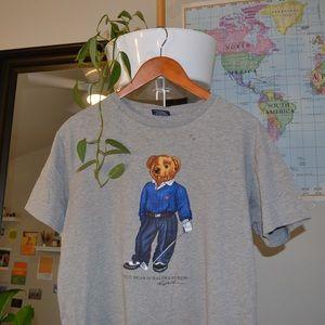 Vintage polo bear tee